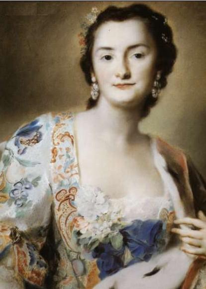 Anna Katerina Orzelska, 1730, Rosalba Carriera