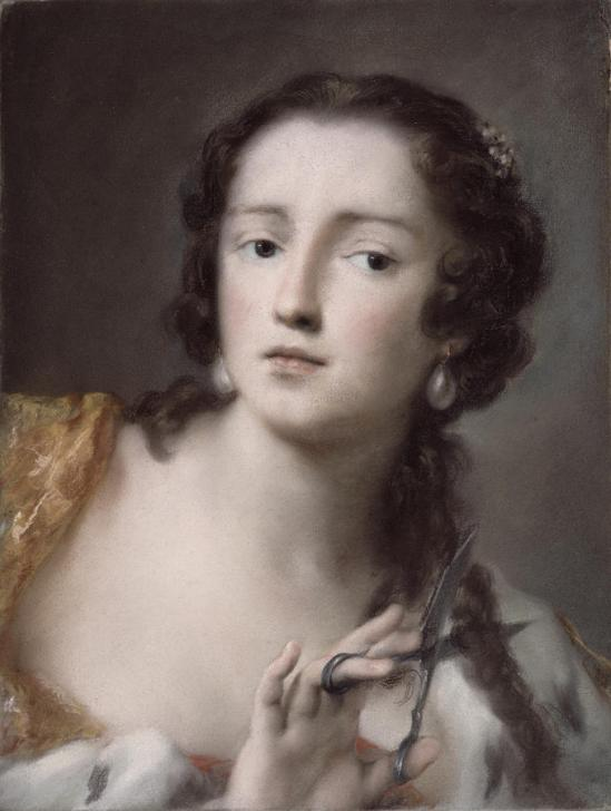 Caterina Sagredo Barbargio As Bernice by Rosalba Giovanna Carriera.jpg