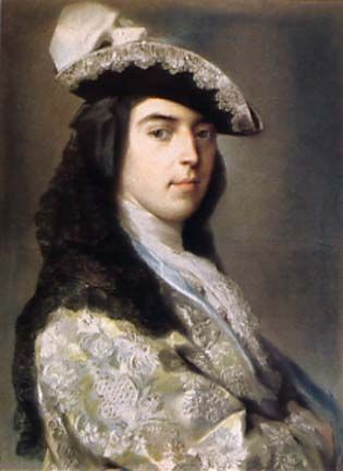 Charles Sackville 2nd Duke of Dorset by Rosalba Carriera
