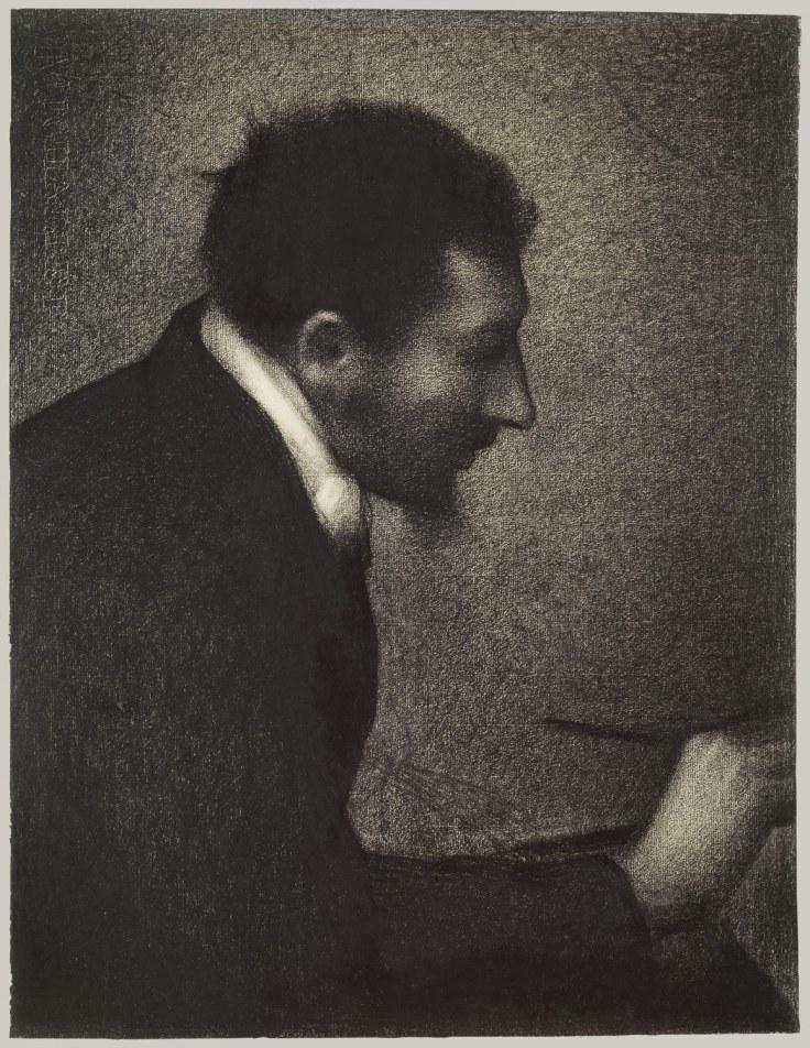 George Saurat, Aman Jean (Portrait of Edmond Francois Aman-jean), ca 1882-3, MET.jpg