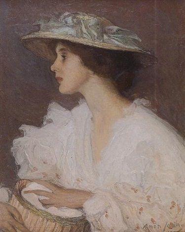 Miss Ella Carmichaël by Edmond François Aman-Jean