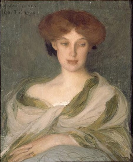 Portrait of A WOMAN, MISS ELLA CAMIRACHEL, 1904