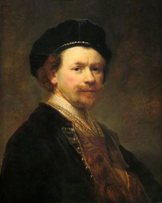 Rembrandt, Self Portrait, ca. 1640, Norton Simon Museum, Pasadena