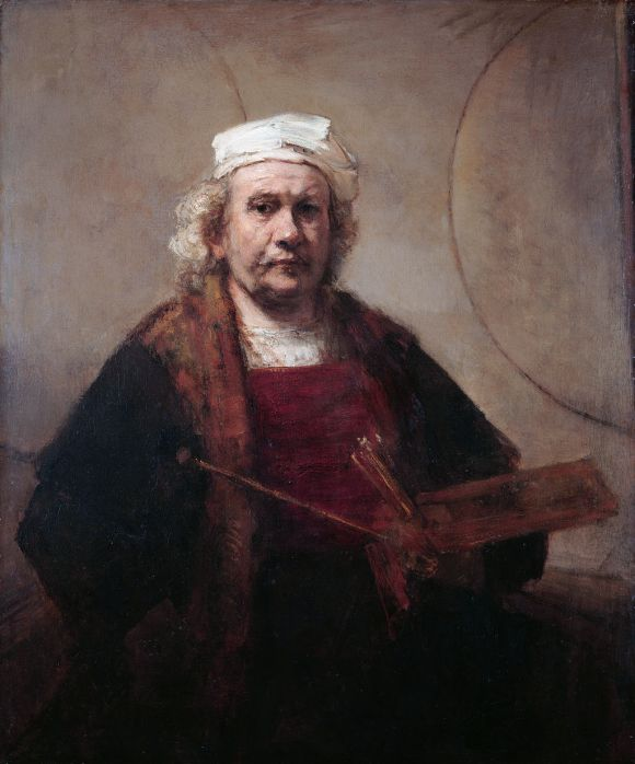 Rembrandt, Self Portrait With Two Circles, 1660, Kenwood House, London