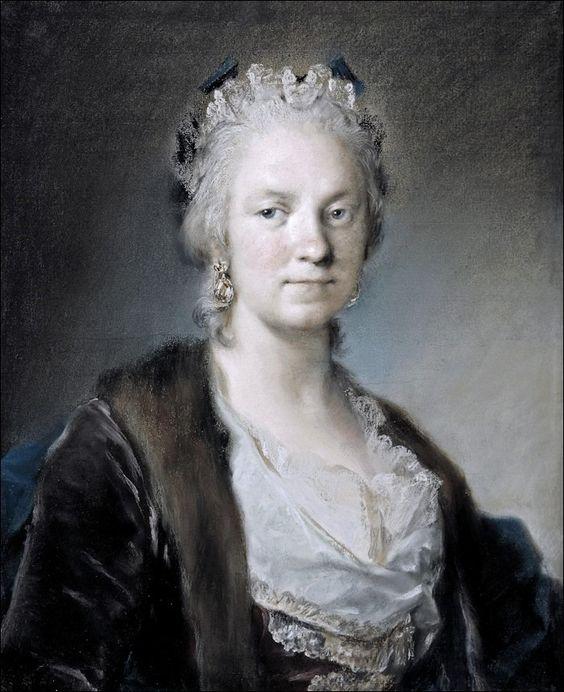 Rosalba Cariera, Autoportrait ,1744