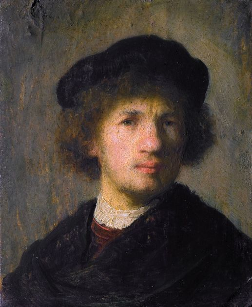 Self-portrait, 1630, Nationalmuseum, Stockholm
