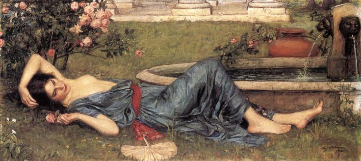 sweet-summer-1912 Waterhouse John William