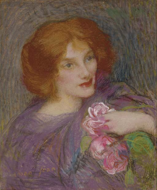 Young Beauty With Flowers (Miss Ella Camirachel)
