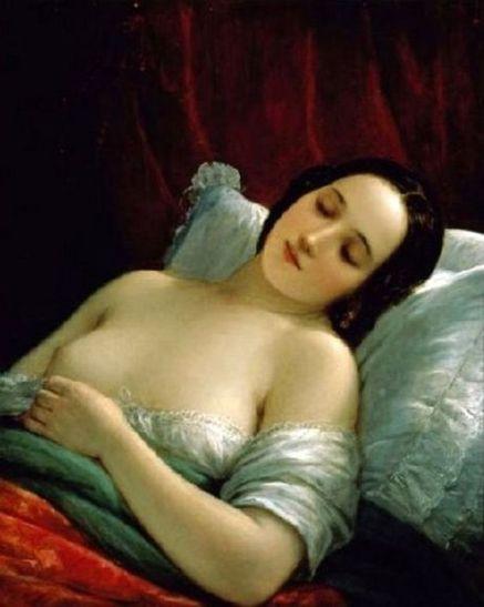 Natale Schiavioni, ca. 1820, The Sleeper