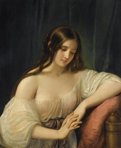 Natale Schiavioni , Portrait of  a Lady, Private Collection.jpg