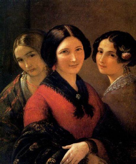 Portrait of Three Maidens
