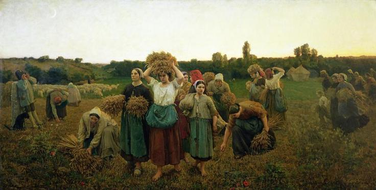 calling-in-the-gleaners-jules-breton