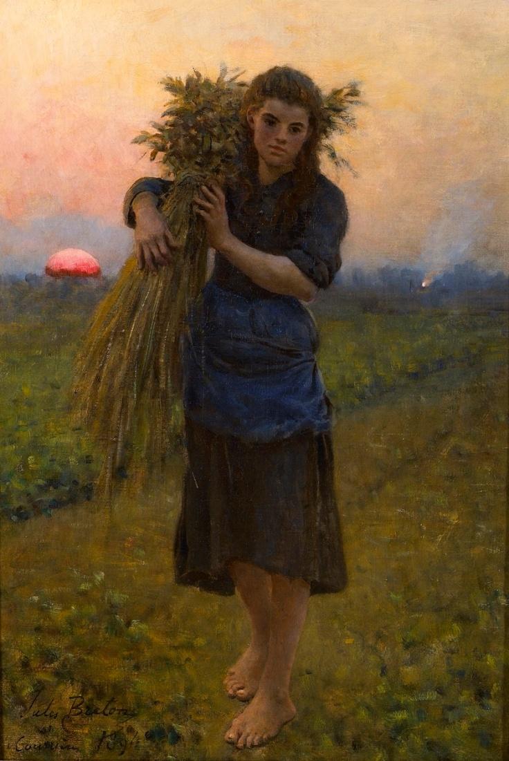 Gleaner (Glaneuse), 1894 by Jules Breton.jpg