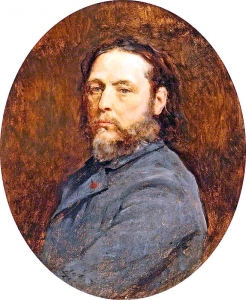 Jules Adolphe Breton, Self Portrait, 1883, Aberdeen Art Gallery and Museums