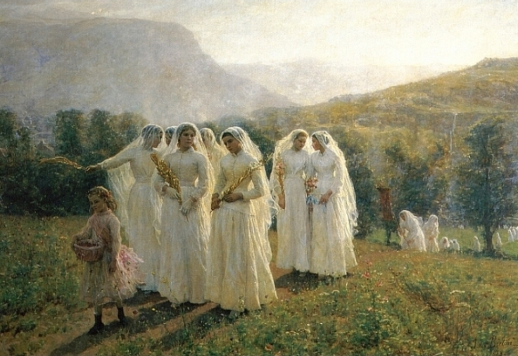 Jules_Breton_Young_Women_Going_to_a_Procession