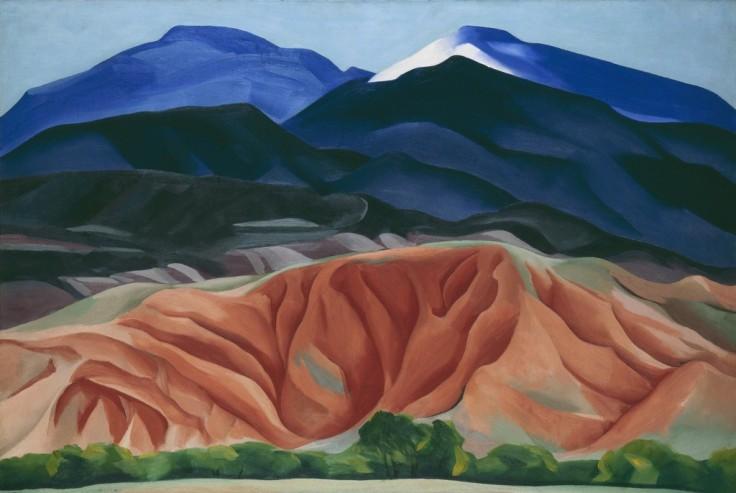 Georgia O'Keeffe, 'Black Mesa Landscape, New Mexico.jpg
