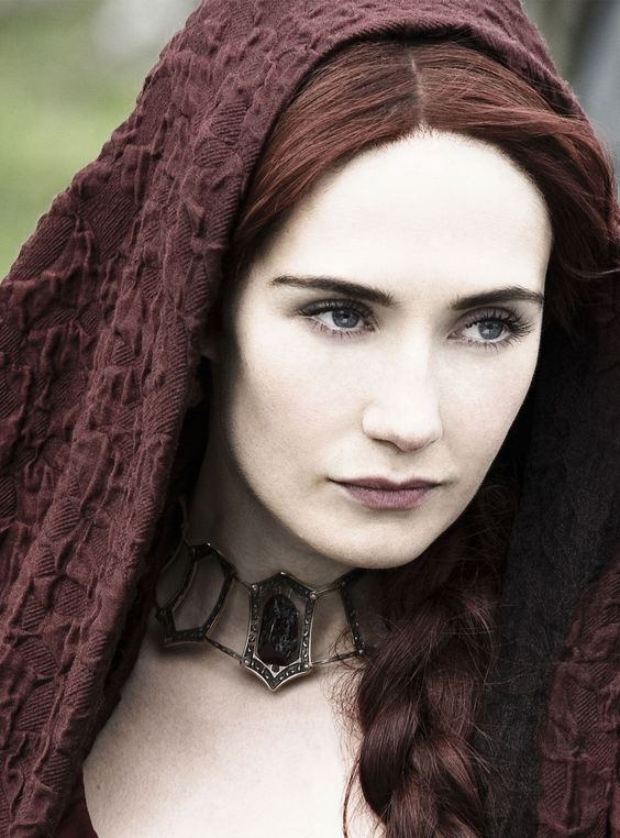 Carice van Houten Melisandre or the Red Woman on Game of Thrones